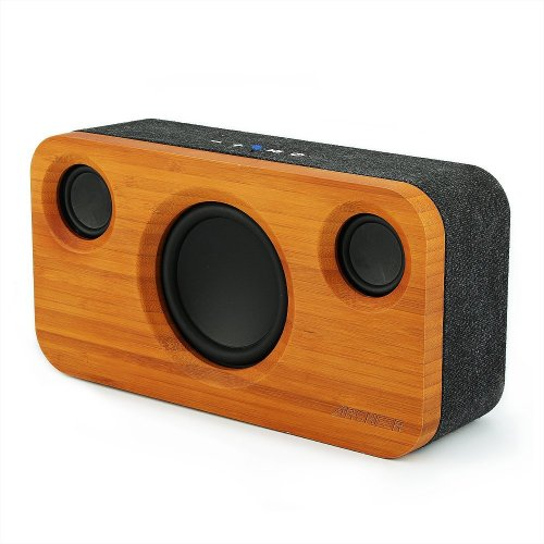 ARCHEER A320S Bluetooth Speaker Stereo Pairing with Super Bass, Built-in Mic, 20 Hour Playtime