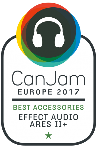 CanJam 2017 Best Accessories - Effects Audio Ares II+.png