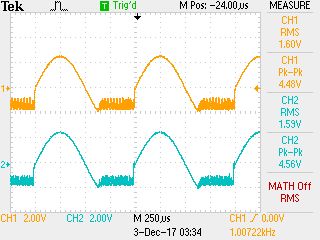 High gain, max volume, 16-ohm load on both channels.png