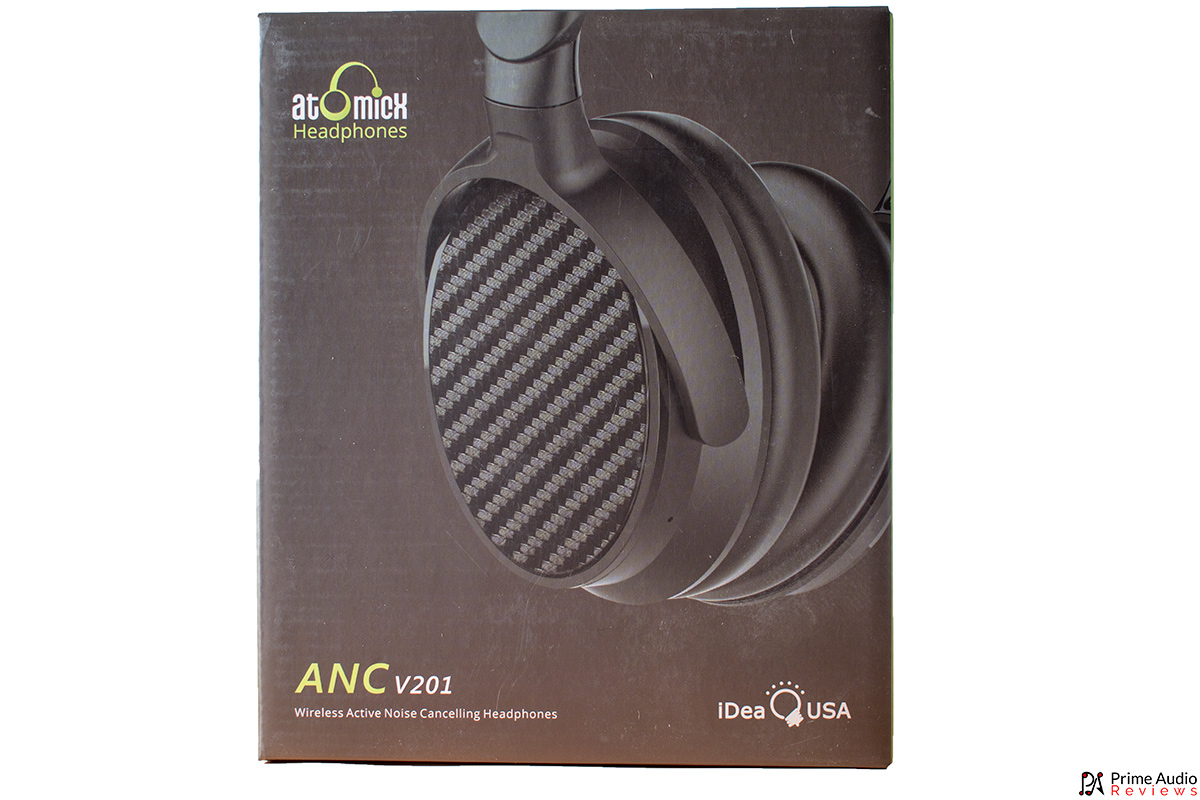 ec10b6a376a Due to my previous experience with iDeaUSA products, it came as no surprise  to see that the V201 ANC, Bluetooth headphone has a solid, durable build.