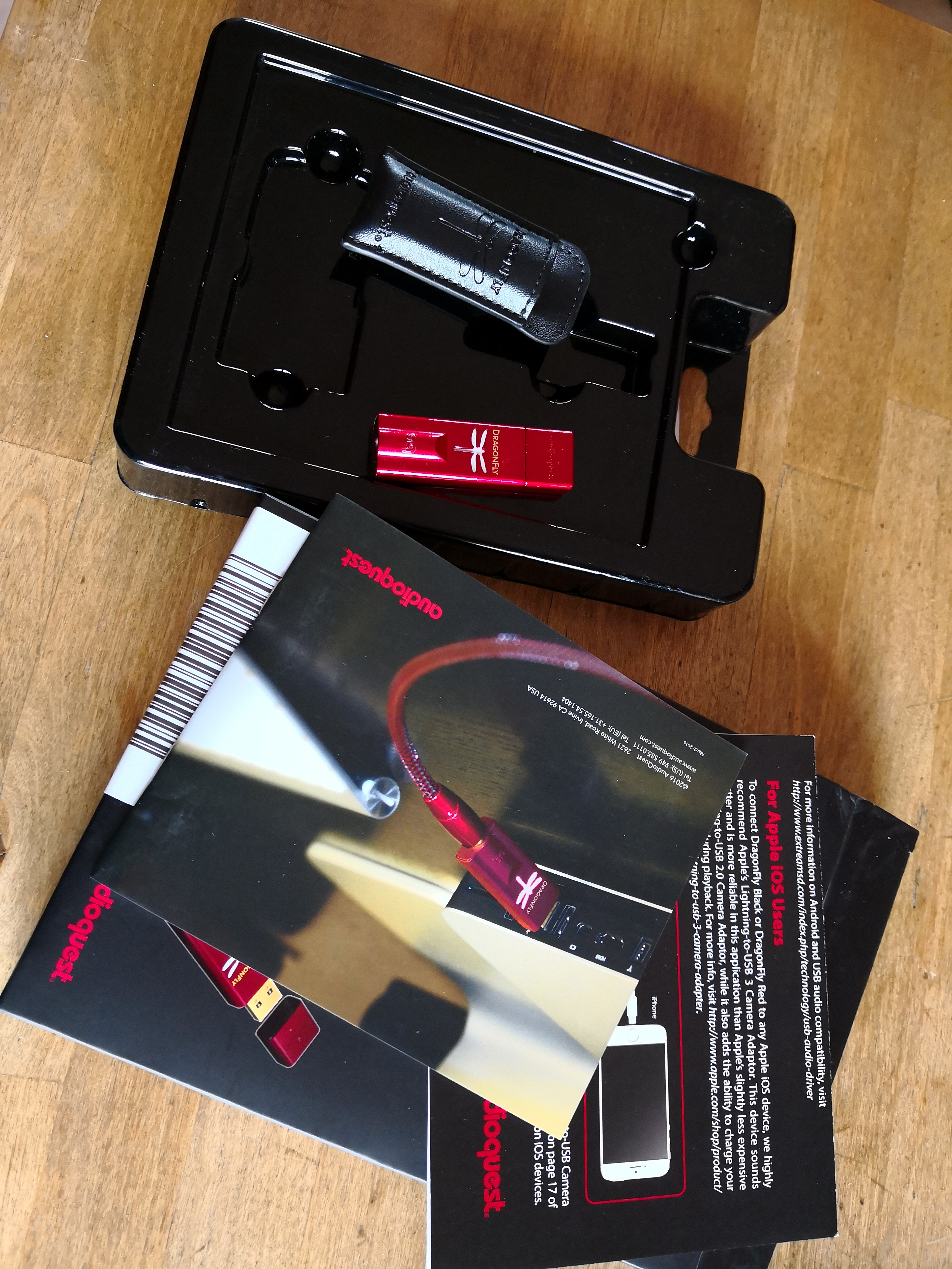 SOLD: Audioquest DragonFly Red | Headphone Reviews and