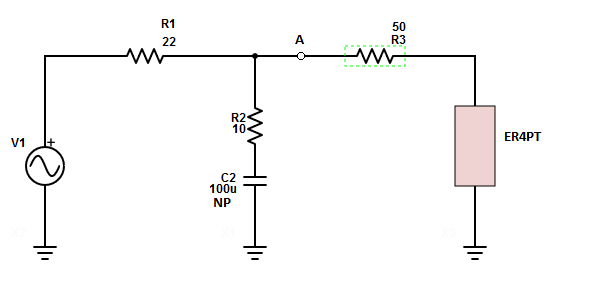 Bass filter, load with resistor in series.PNG