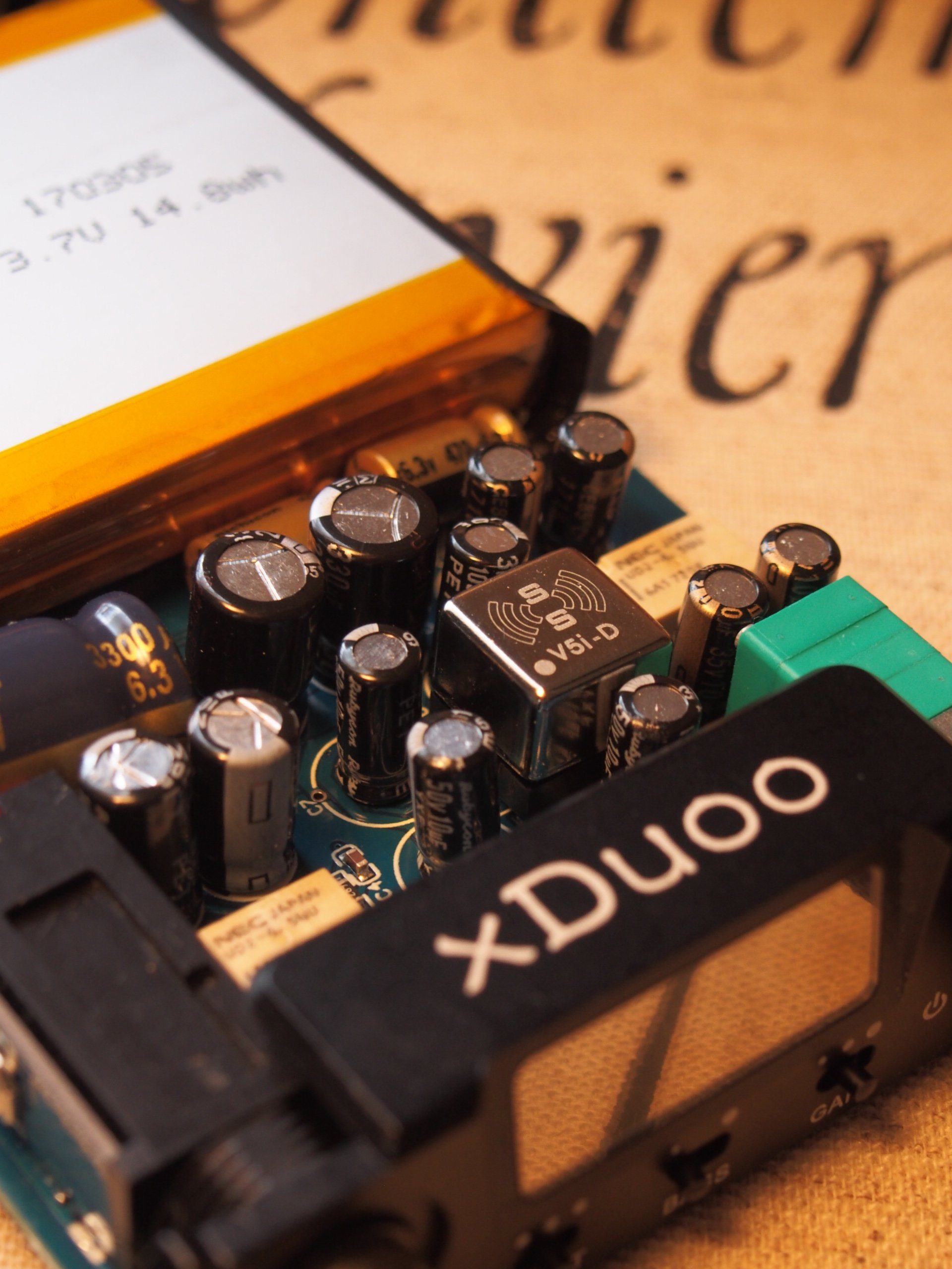 Burson Audio Supreme Sound Opamp V5i Reviews Page 3 Headphone Op Amp How To Disable A Single In Dual Packaging Stock Opa 1612 Of Xduoo Isnt Bad At All And Here The Improvment With Is Perhaps More Subtle Than Walnut But Still Very Hearable