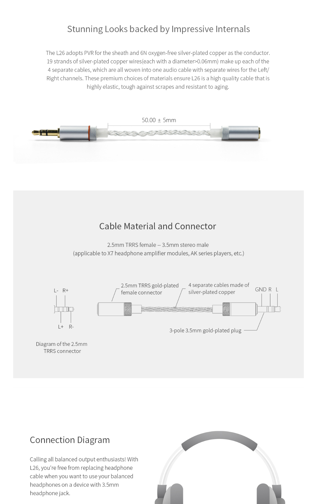 25mm Male To 35mm Female Adapter Headphone Reviews And Trrs Jack Wiring Diagram Img 20180403 154010
