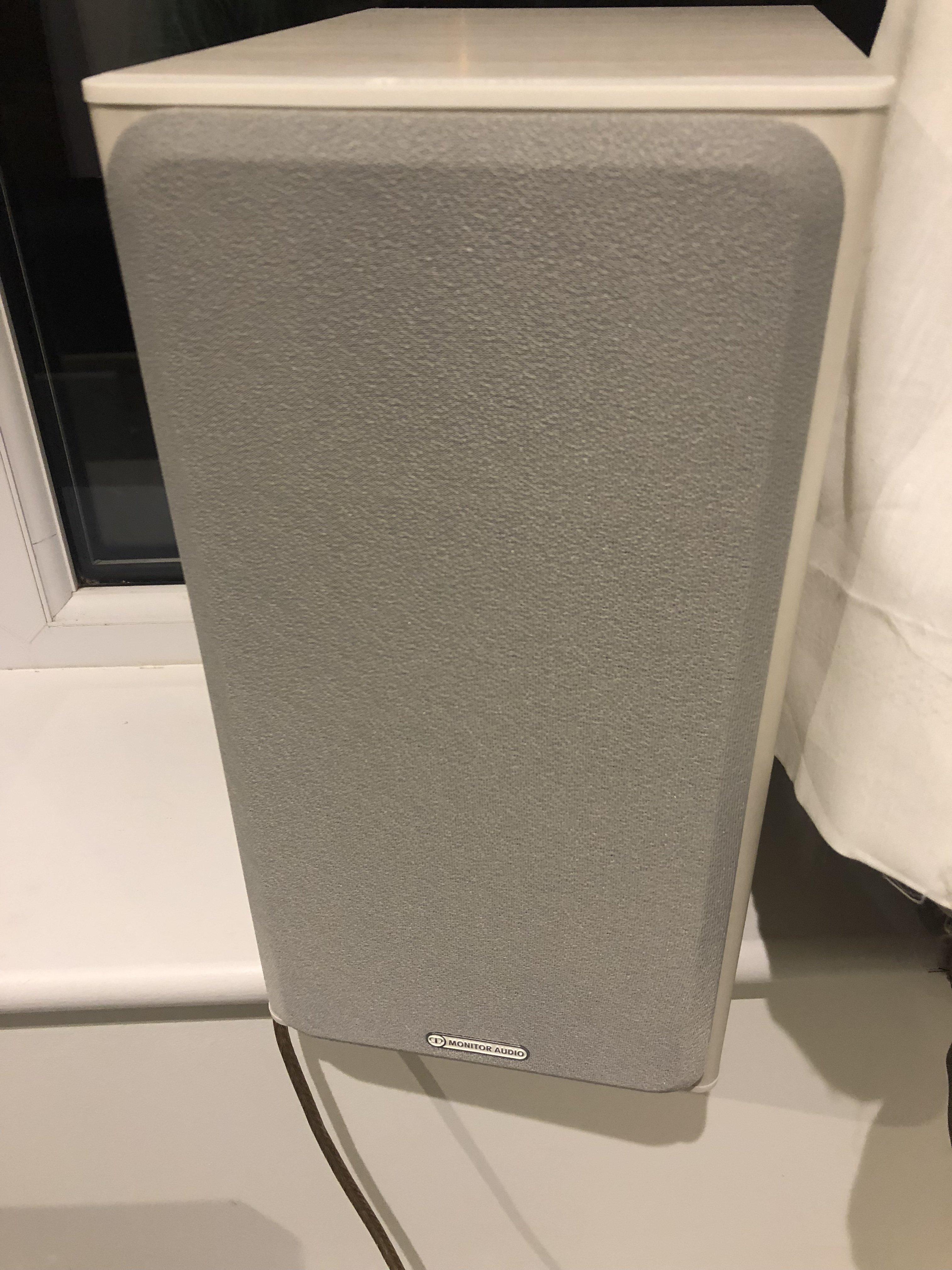 Sold Monitor Audio Bronze 2 White Ash Speakers