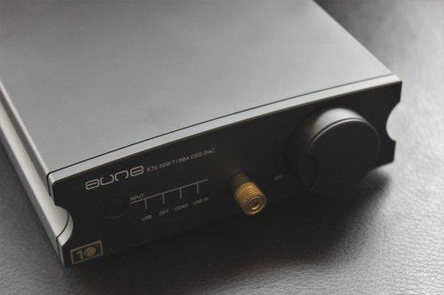 Aune X1S 32Bit 384 DSD128 ESS9018K2M USB Interface Audio Decoding AmplifierBlack
