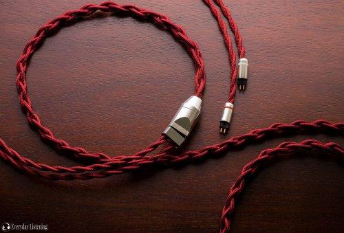 Han Sound Audio Redcore OCC silver + OCC copper cable