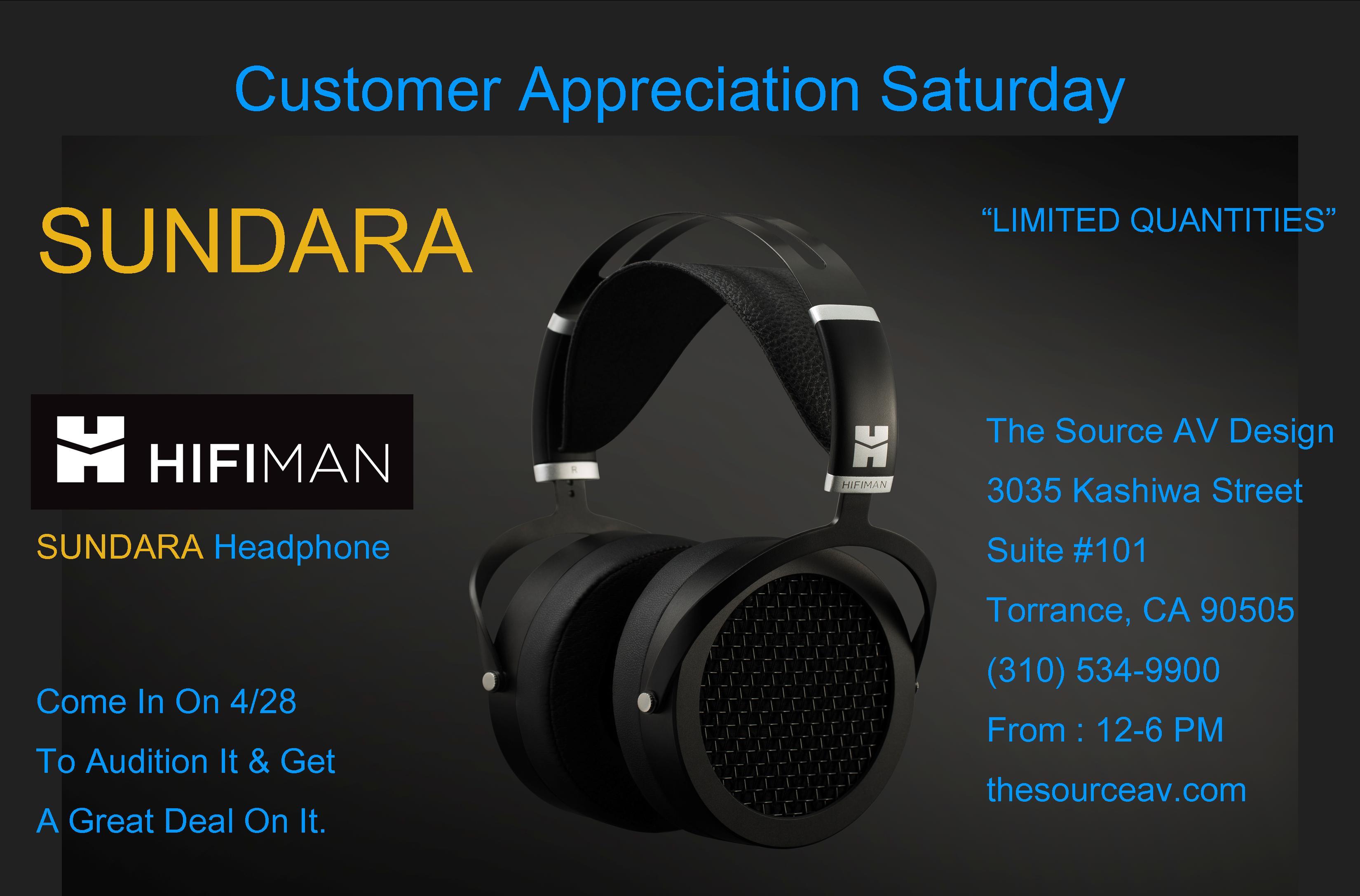 Customer Appreciation Saturday