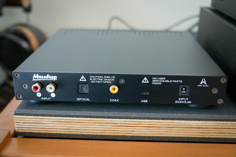 Massdrop x Airist Audio R-2R DAC: A Discrete Resistor Ladder