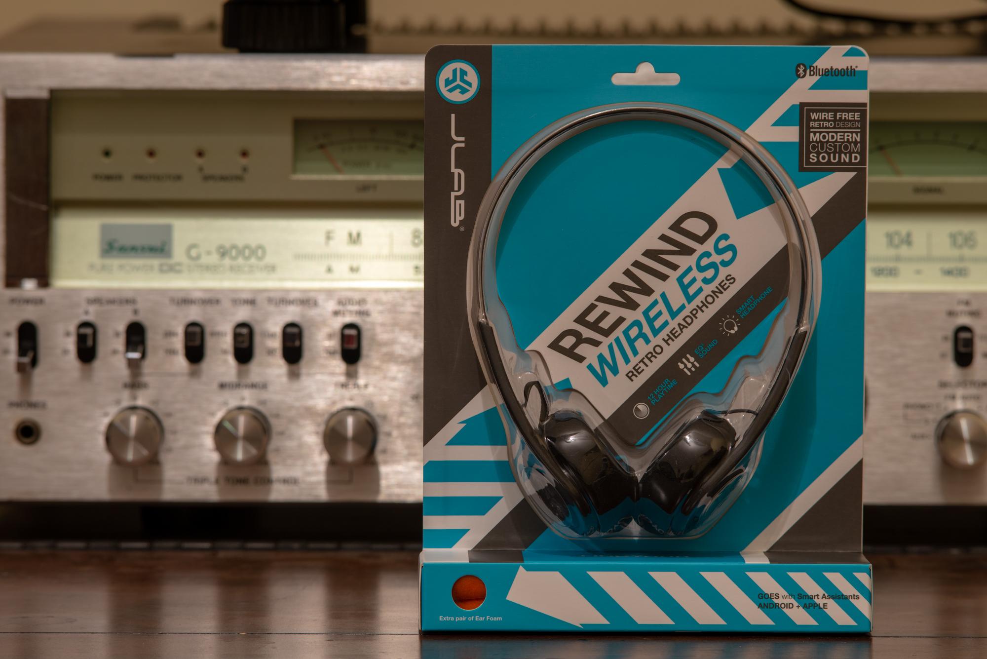 8f4db029583 JLab Audio Rewind Wireless Retro Headphones... | Headphone Reviews ...