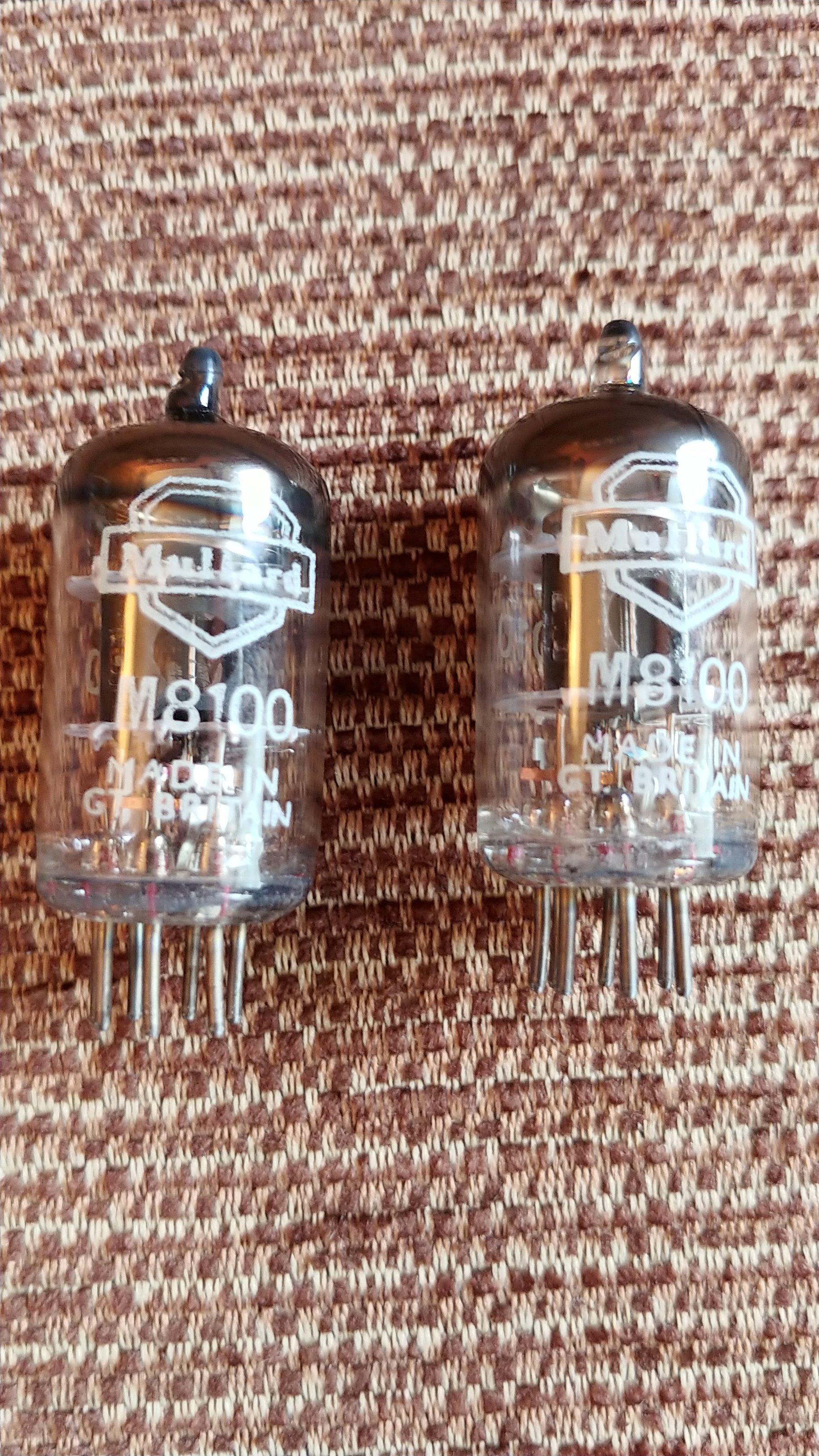 Röhren EM85 // 6DU6 french army Vacuum Tube NIB x1 NOS Valve