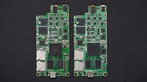 N5iiS PCB Compare (Left is new, Right is old).JPG