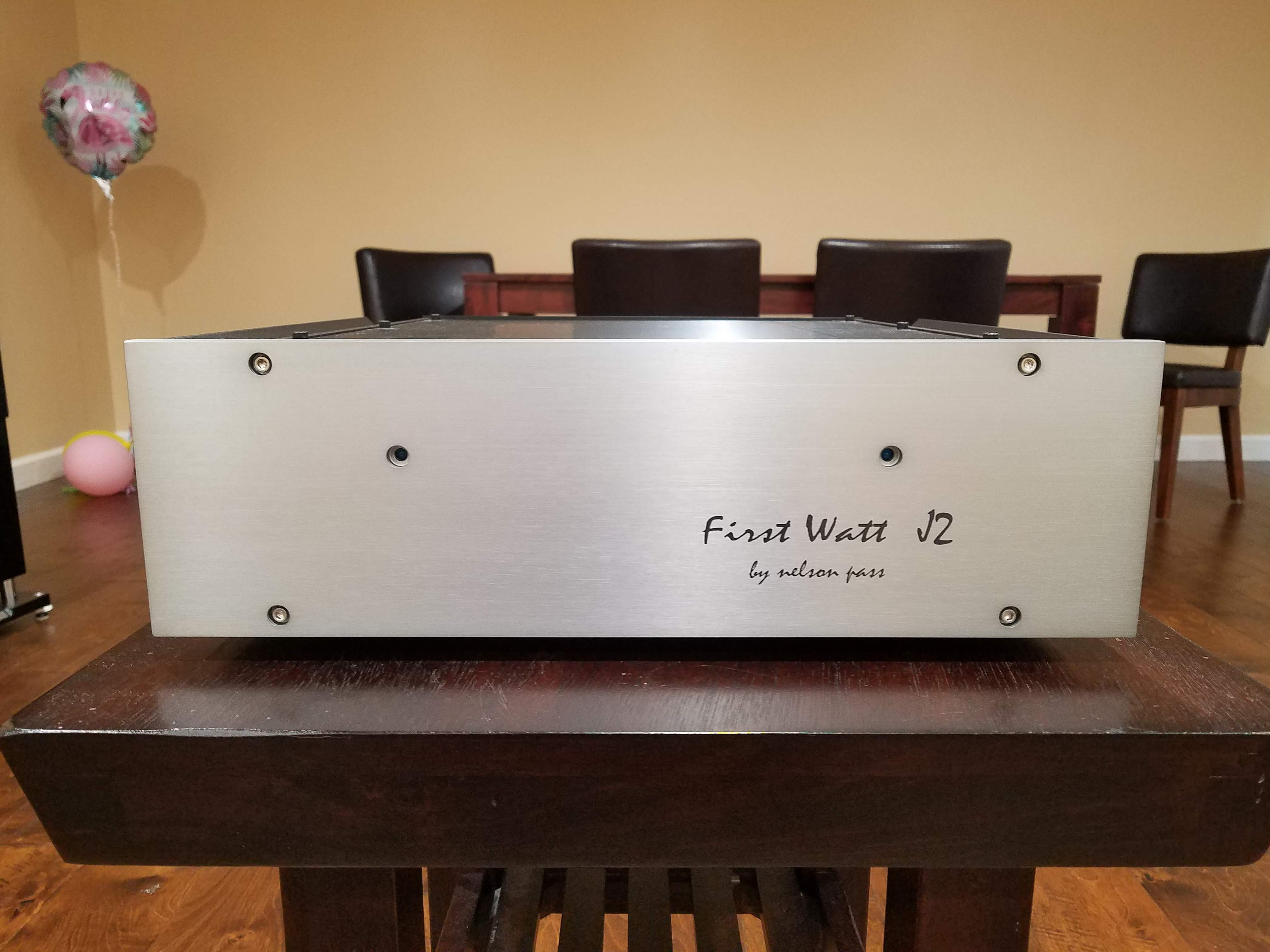 Sold - First Watt J2 amplifier - speakers and headphones