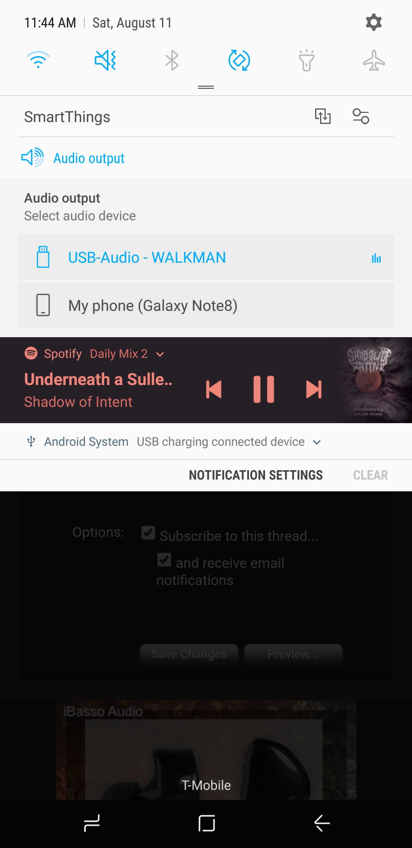 Official Samsung galaxy note 8 thread sound quality is great