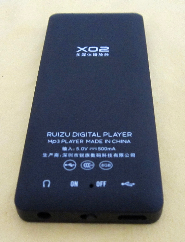 RUIZU X02 8 GB MP3 Player | Reviews | Headphone Reviews and