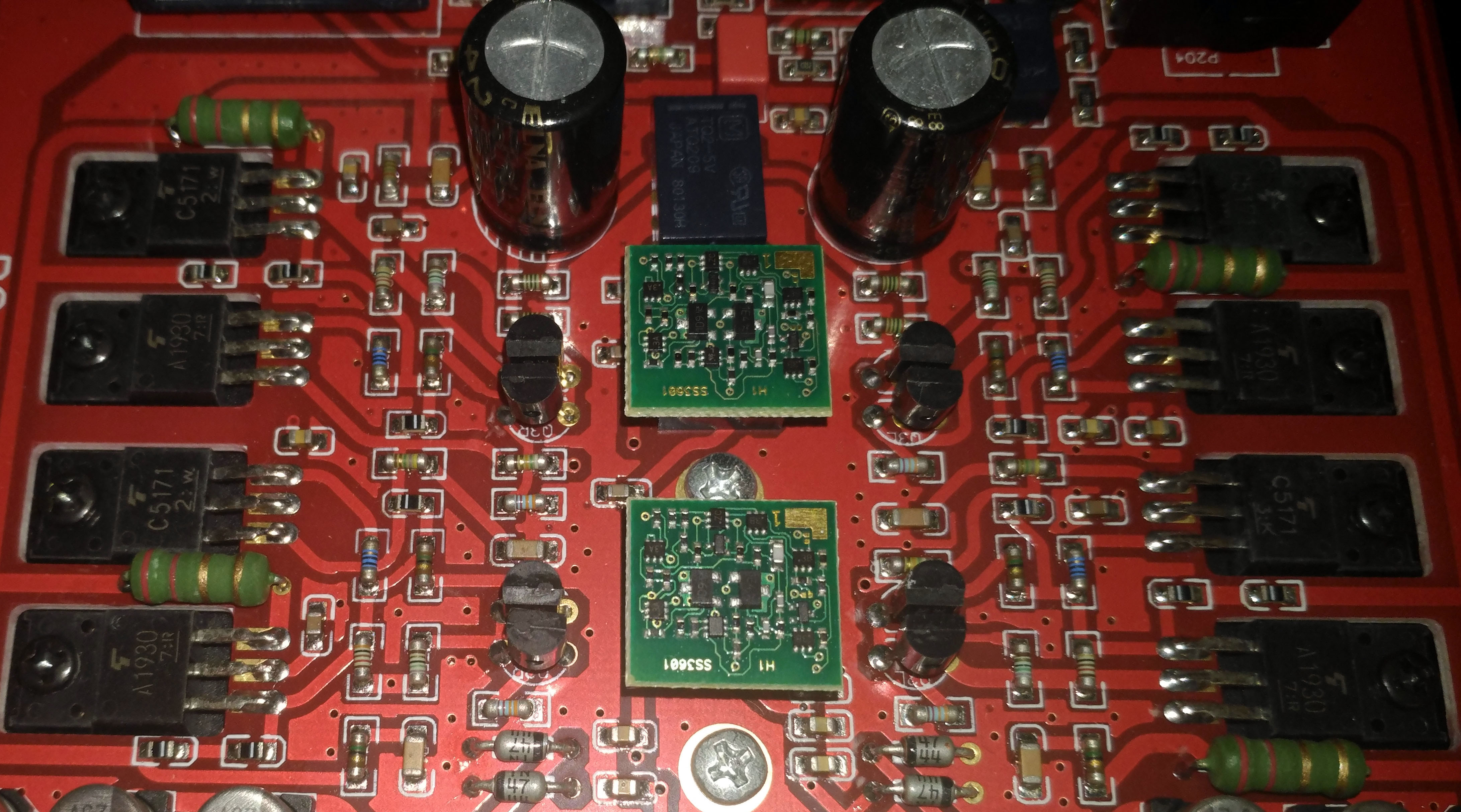 Burson Audio Fun Reviews Headphone And Discussion Head Low Noise Mic Preamp Using Ne5534 Ic Circuit Diagram Ne5534s Installed 07 Ss3601s