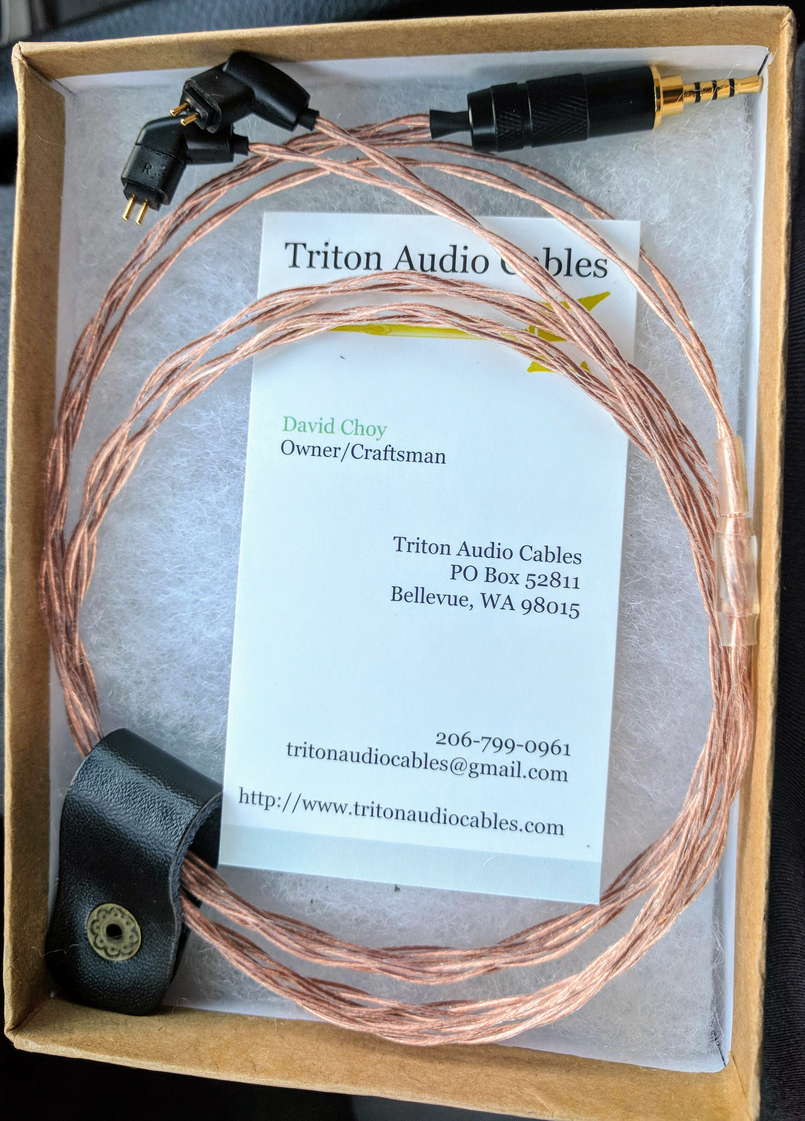 Triton Audio Cables Highly Recommended Headphone Reviews And Cable Wiring Img 20181003 174428 20181004 223441