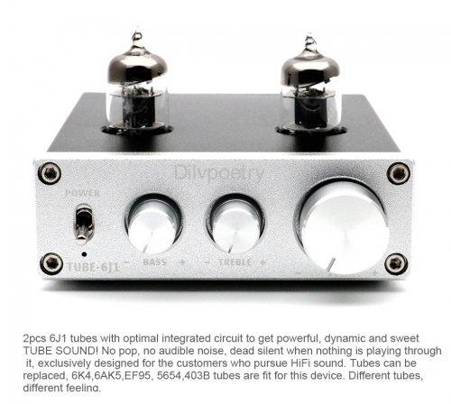 Dilvpoetry FX TUBE-03 6J1