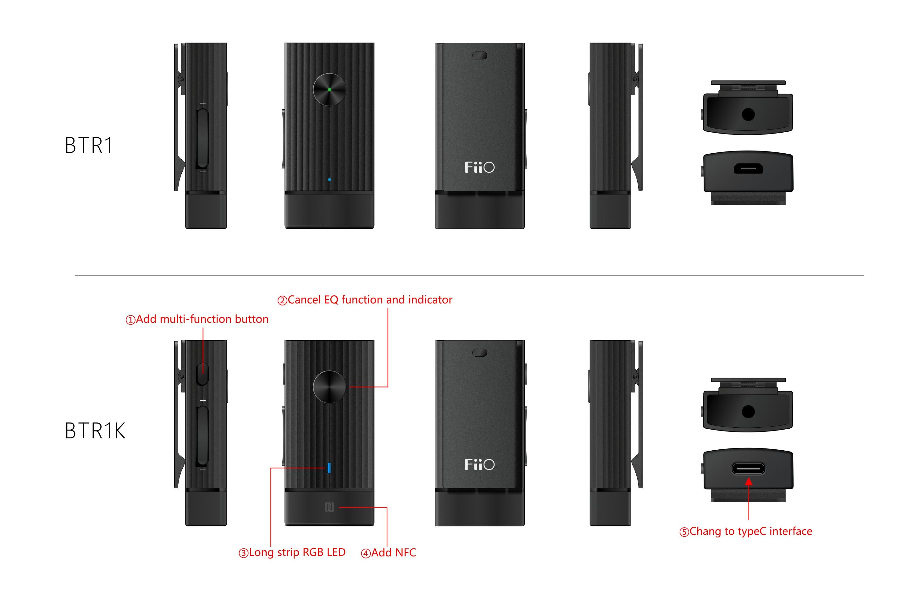 2c9847644aa FiiO's Upgraded Bluetooth Amplifier BTR1K: Qualcomm QCC 3005 BT chip ...