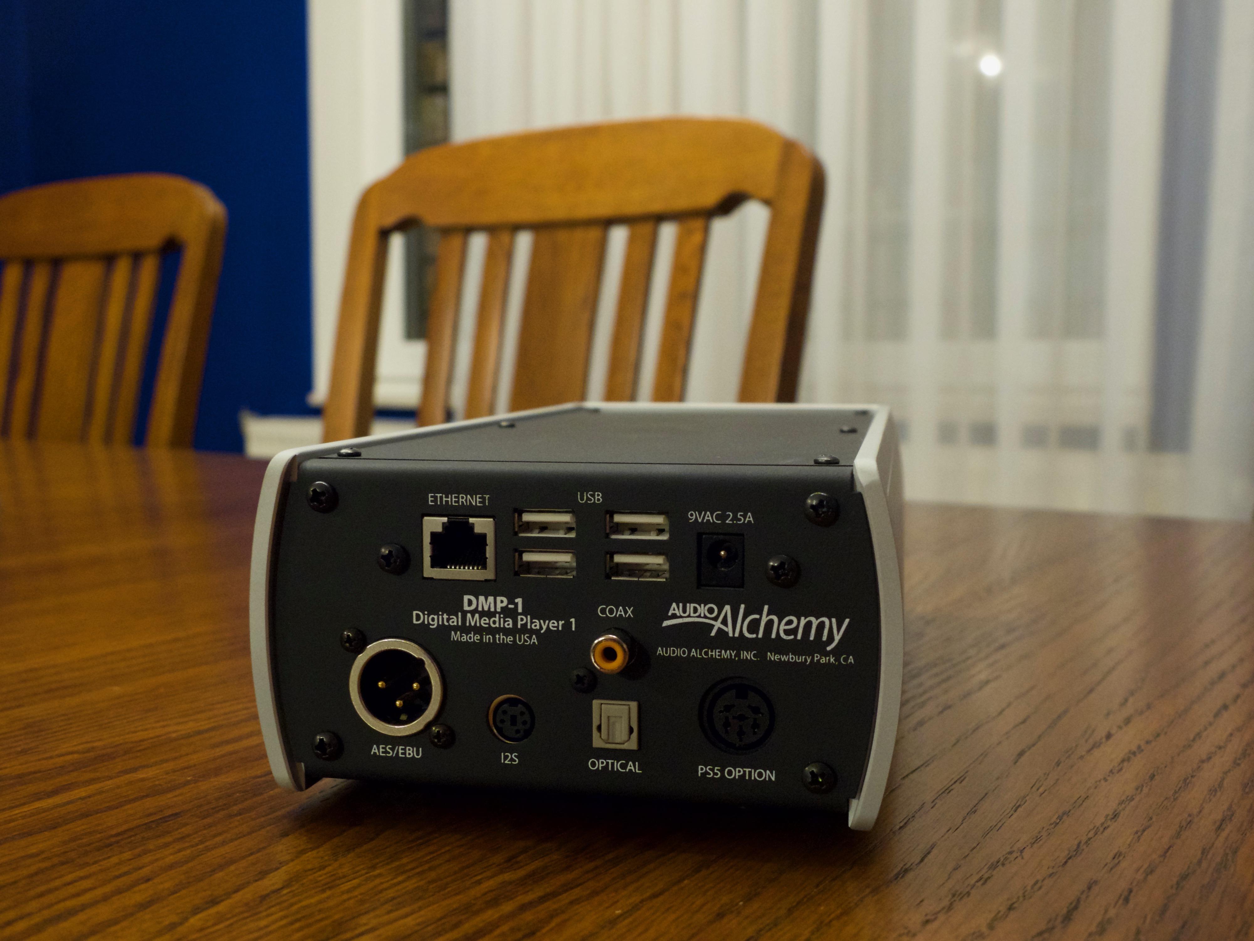 Audio Alchemy DMP-1 Roon Ready Digital Music Player