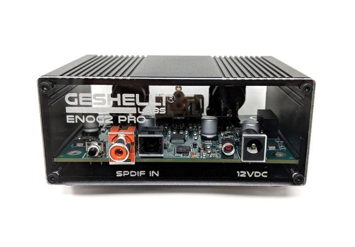 Geshelli Labs ENOG2 PRO DAC fully balanced design, AK4493