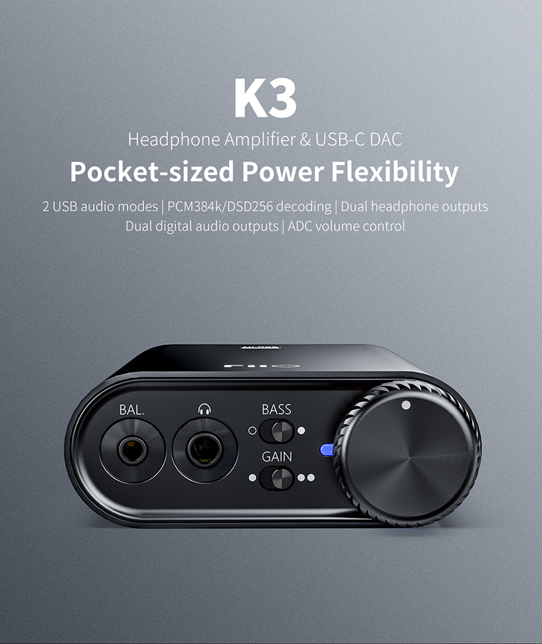 FiiO is Giving Out 2 Free K3 Headphone Amplifier & USB-C DAC