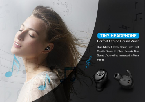 TWS 5.0 Wireless Sports Earbuds