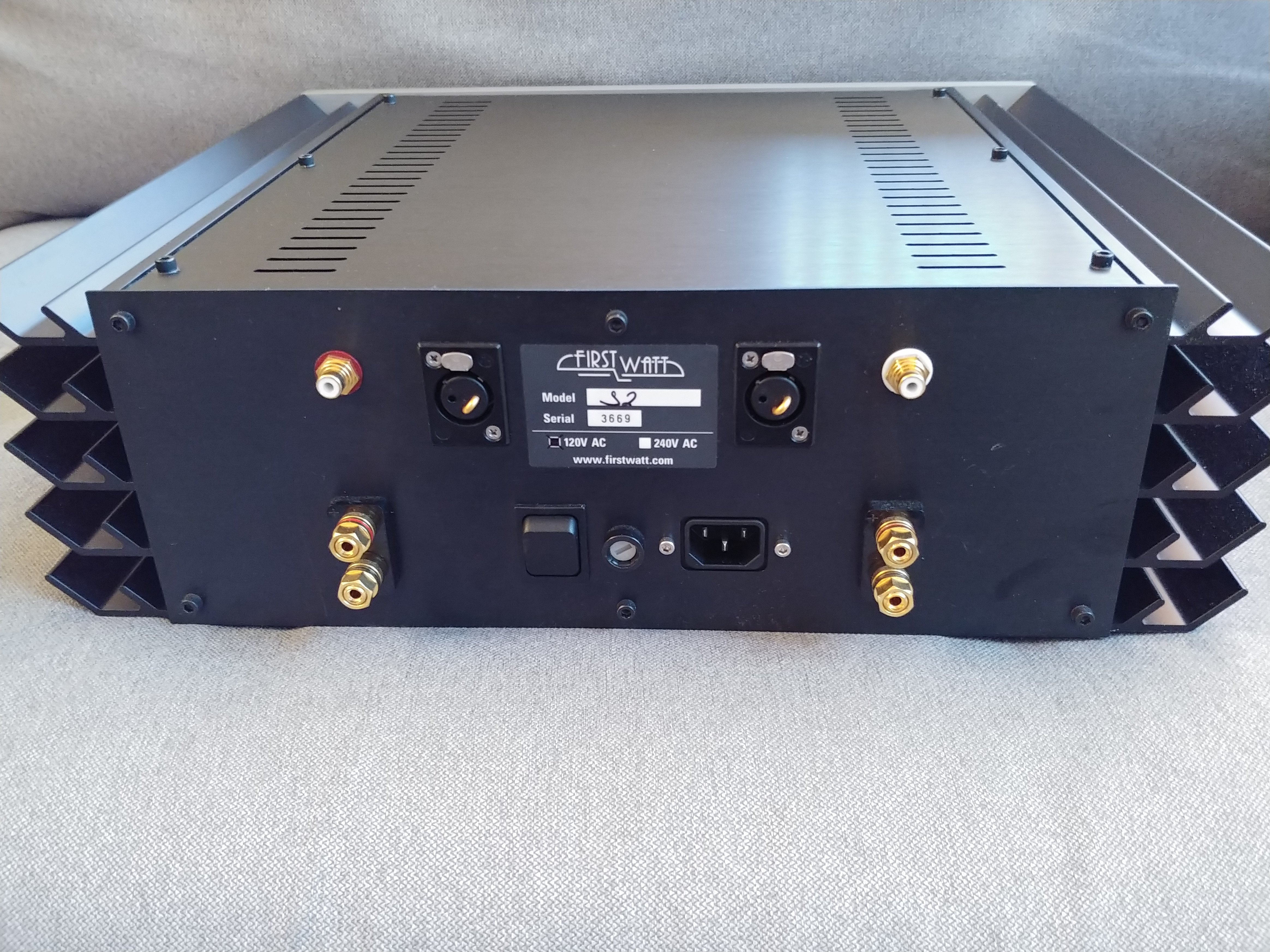 SOLD] First Watt J2 amplifier | Headphone Reviews and