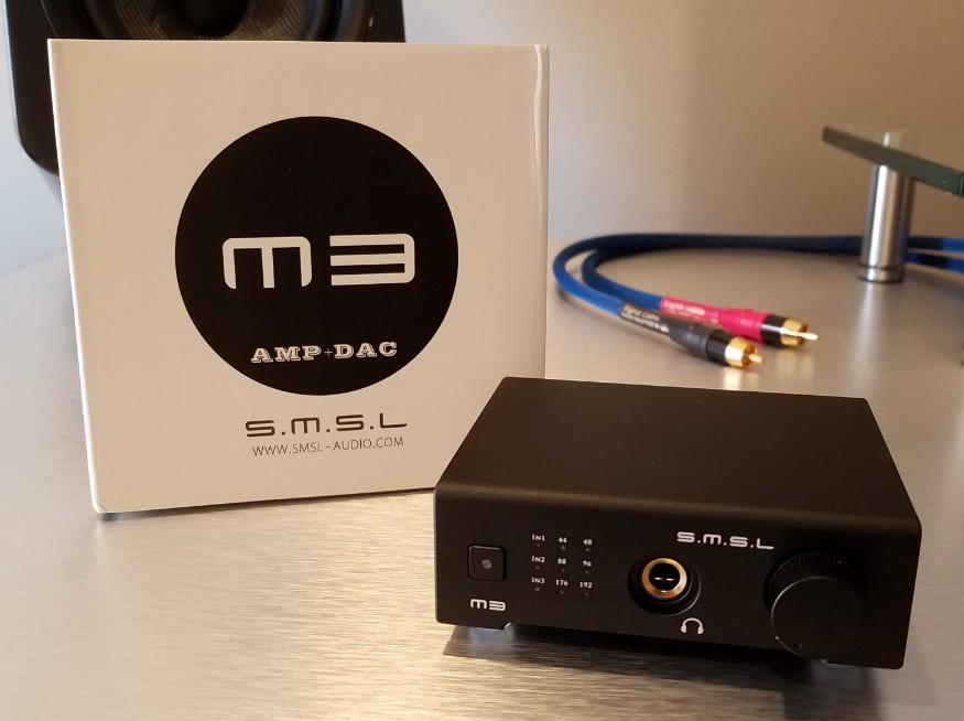 SOLD] [PRICE DROP] FS: SMSL M3 DAC/Amp [Excellent Condition