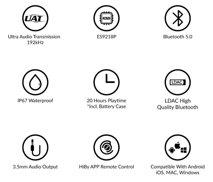 HiBY W5 - 192KHz Bluetooth audio breakthrough   Headphone Reviews
