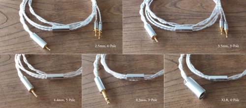 final Silver OFC Headphone Cables