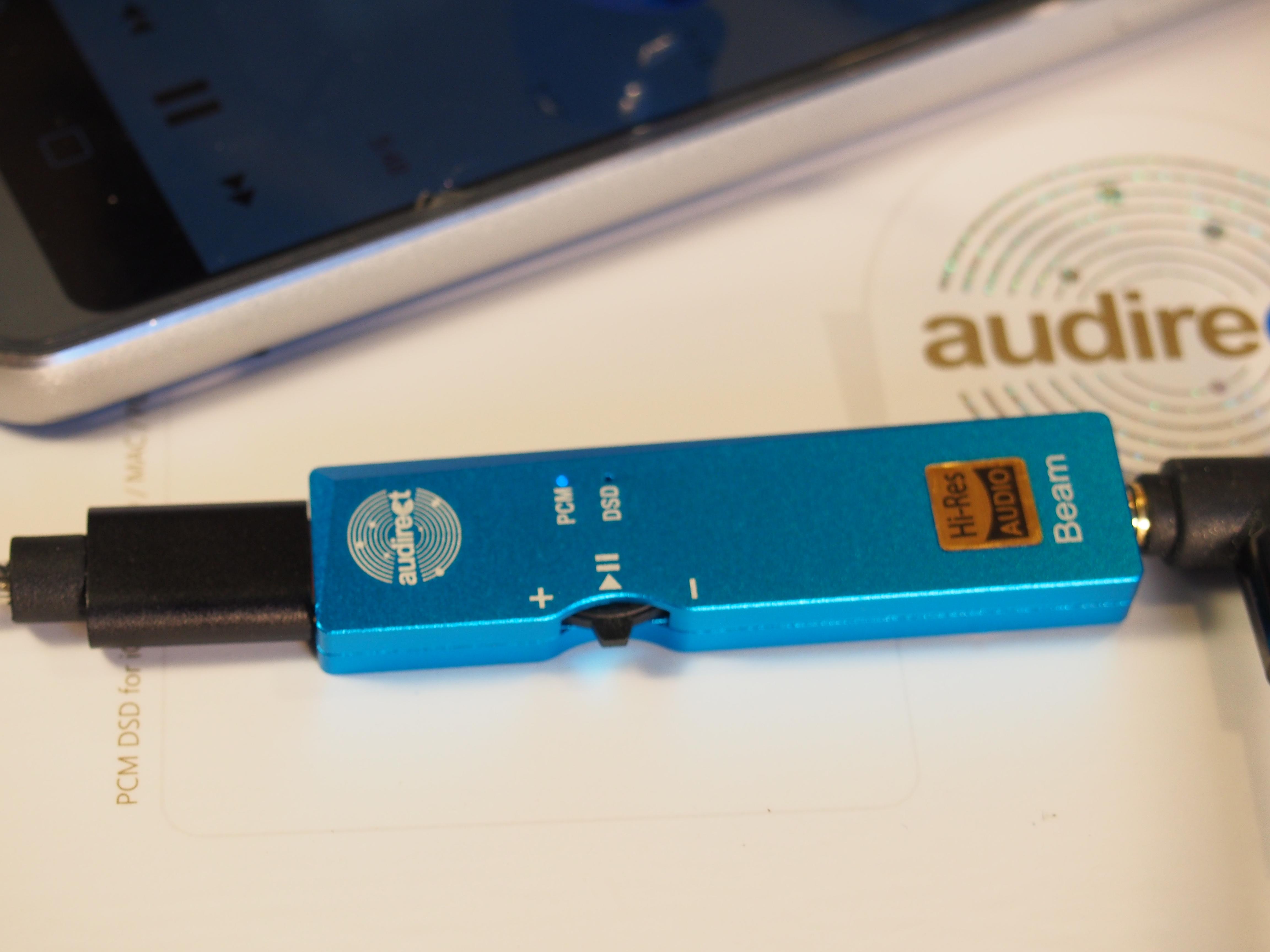 AUDIRECT BEAM DAC-AMP: Small size, Small sound, BIG smile