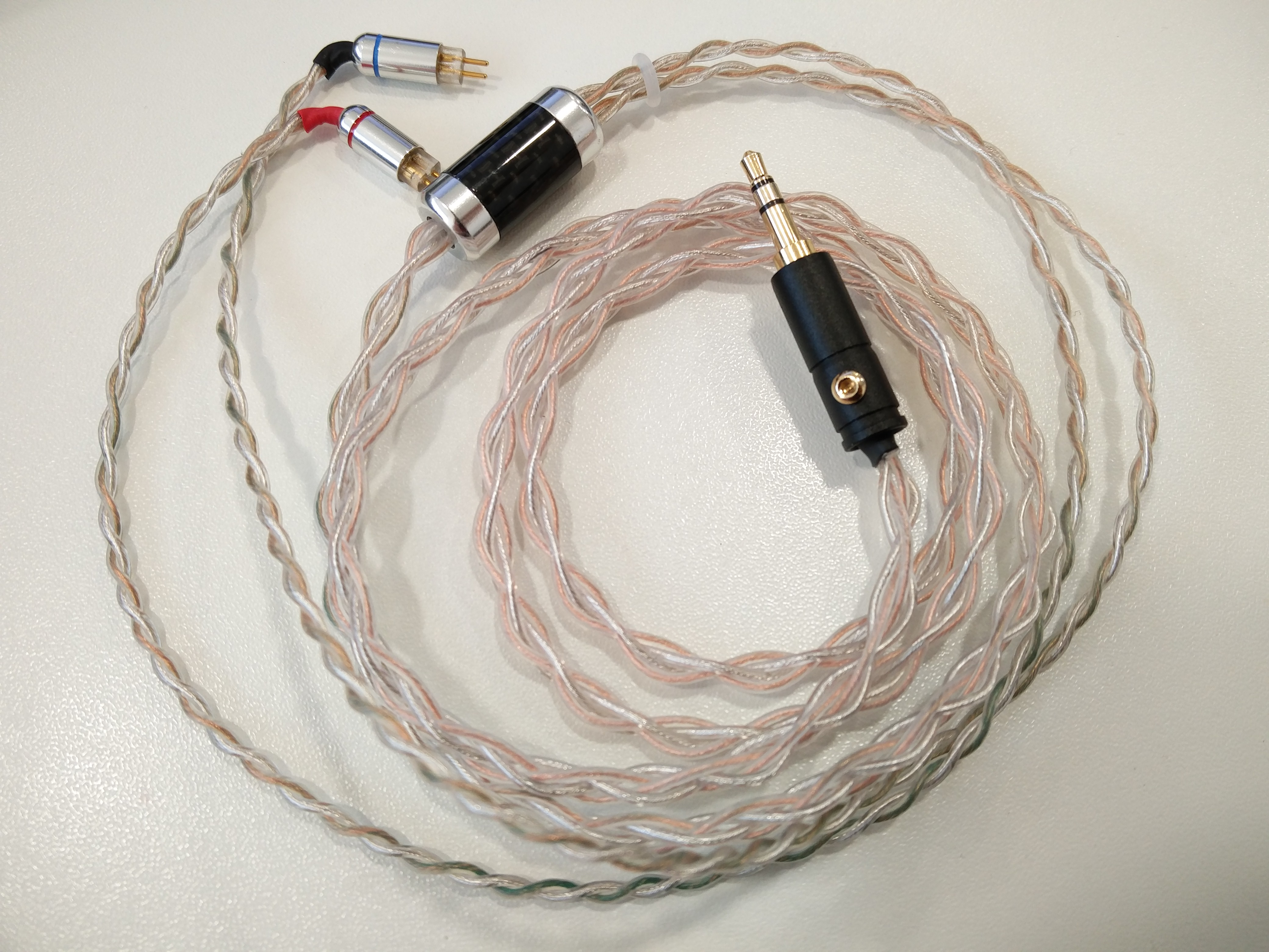 Excellent Home Made Toxic Cables Hybrid Sliver Copper Cable 3 5Mm To 2 Pin Wiring Digital Resources Indicompassionincorg