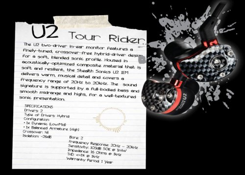 Stealth Sonics U2