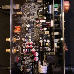 Heritage Amp Inside