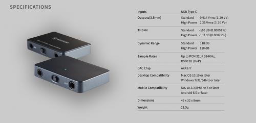 EarStudio HUD100 DAC/AMP
