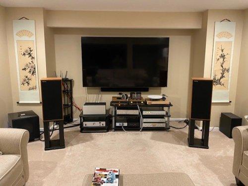 Basement speakers and headphone system.jpg