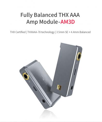 FiiO AM3D Balanced THX AAA Amp Module-AM3D/3.5mm SE+4.4mm Balanced Special for FiiO Q5s/Q5/X7