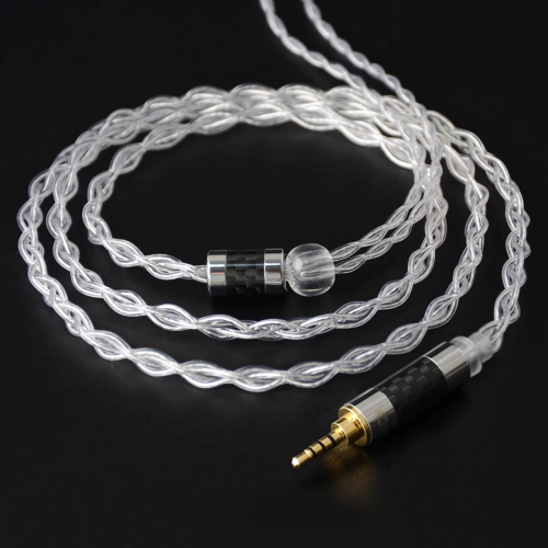 NiceHCK 4 core pure silver cables