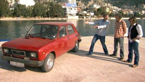 Top Gear Albania Bentley Mulsanne 1990 Zastava Yugo 101 Skala 5.jpg