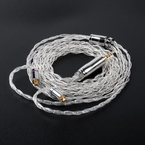 KBEAR limpid 4 Core 4N 99.99% Purity silver earphone cable