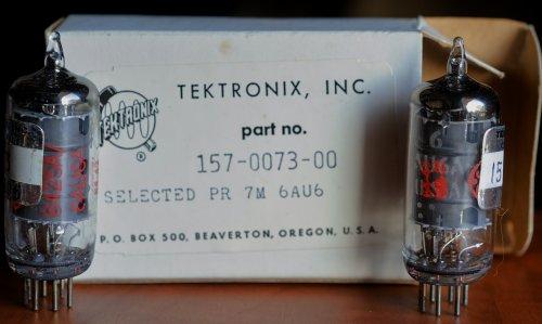 GE 6AU6-8425A TEKTRONIX (1964) MATCHED PAIR $27.00CA  24-07-13.jpeg