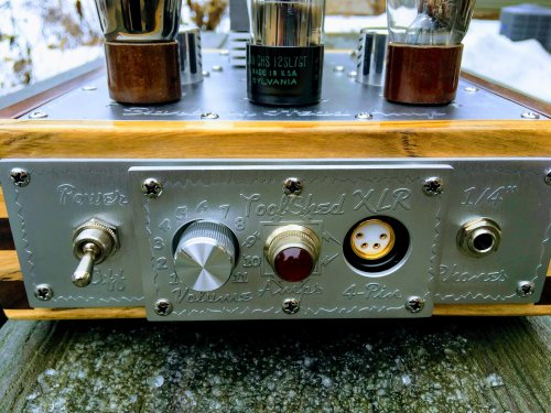 Tool Shed The Darling Tube HEAD AMP