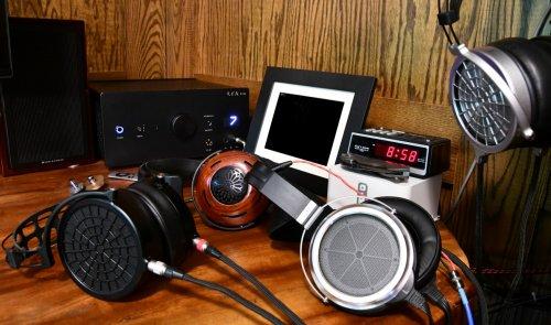 Headphone amp - headphones laying on the desk (Medium).JPG