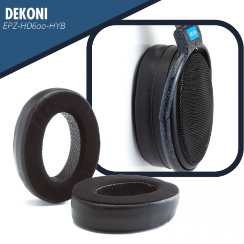 Dekoni Audio Elite Hybrid Replacement Ear Pads for Sennheiser HD600 Series