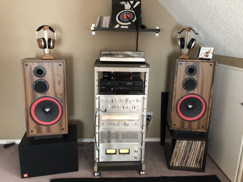 Cerwin Vega DX-5 setup for Spec system with JBL Sub.jpg