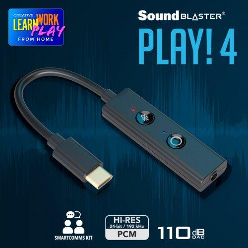 Brand new Creative Sound Blaster Play!4 AMP/DAC