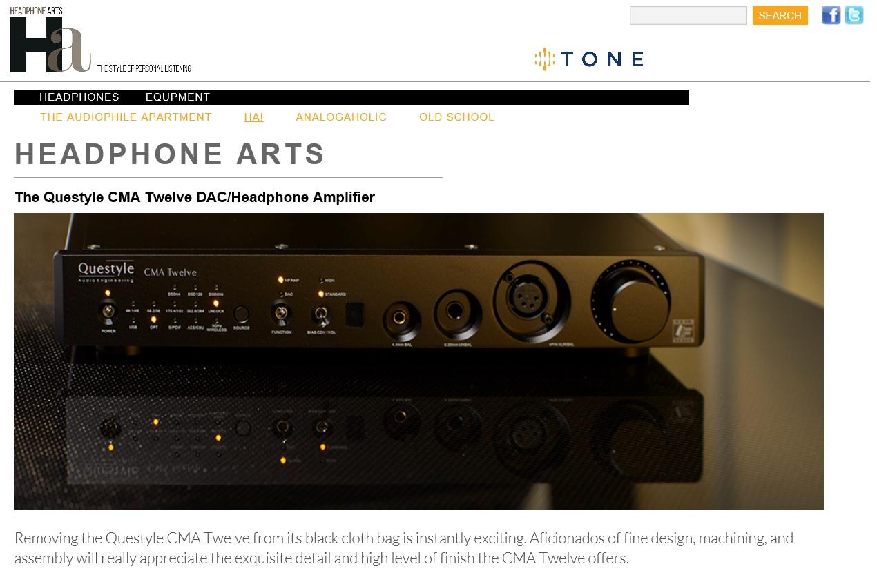 Questyle CMA Twelve Wins Tone Exceptional Value Award