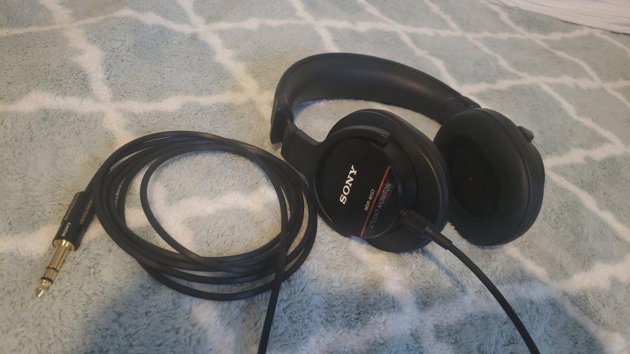 Sony MDR-M1ST w/ Brainwavz XL Pads