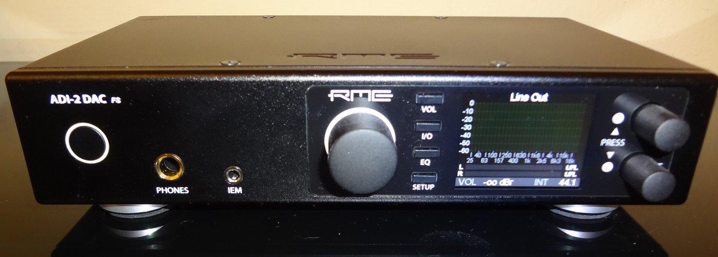 SOLD - RME ADI-2 FS Version 2 DAC and Headphone Amp